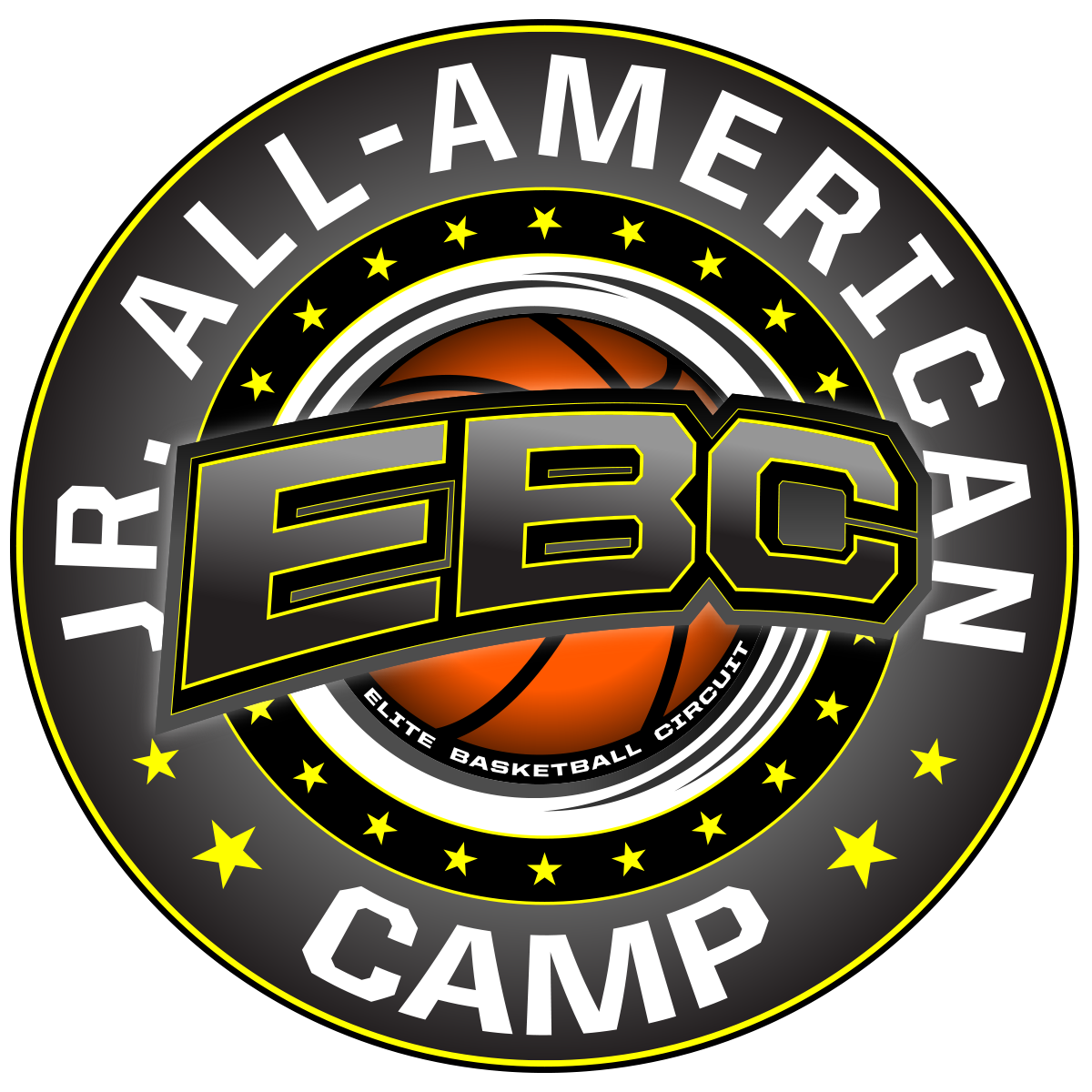 EBC Jr. All-American Camp Logo